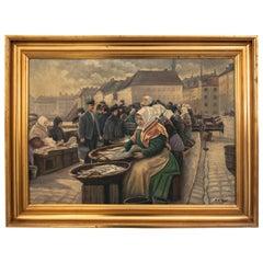 "Painting ""Fish Market"""