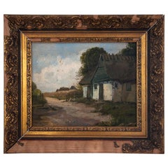 """Painting """"House by the Road"""""""