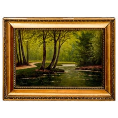 """Painting """"In the forest"""""""