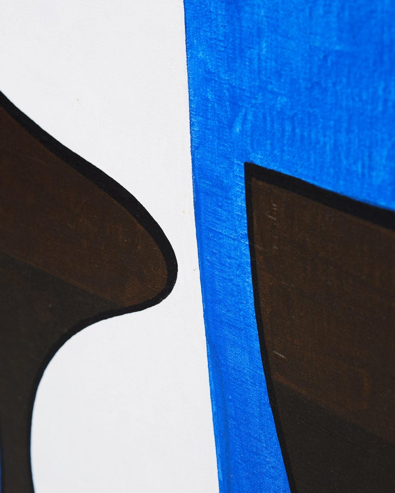 Swedish Painting 'Komposition III' by Tore Nyberg, Sweden, 1960s For Sale