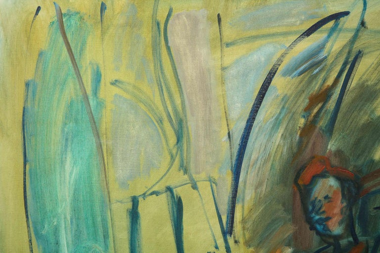 Painting, Large, circa 1960 In Good Condition For Sale In New York, NY