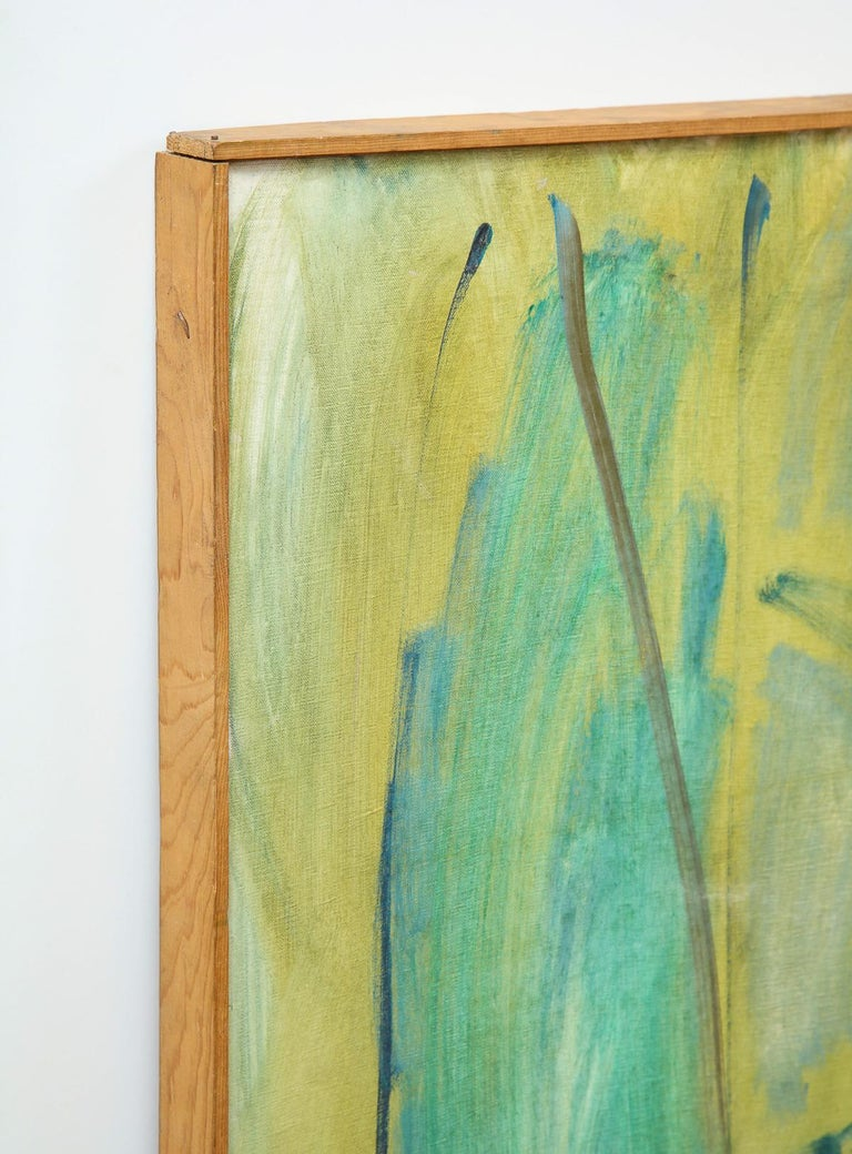 Mid-20th Century Painting, Large, circa 1960 For Sale