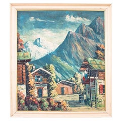 "Painting ""Mountain landscape"""