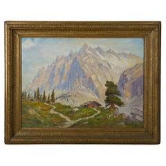 Painting Mountain Landscape