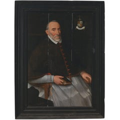 Painting of Cardinal Mathias Hovius Attributed to Lucas Franchoys the Elder