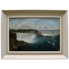 Painting of Niagara Falls Attributed to Robert Whale