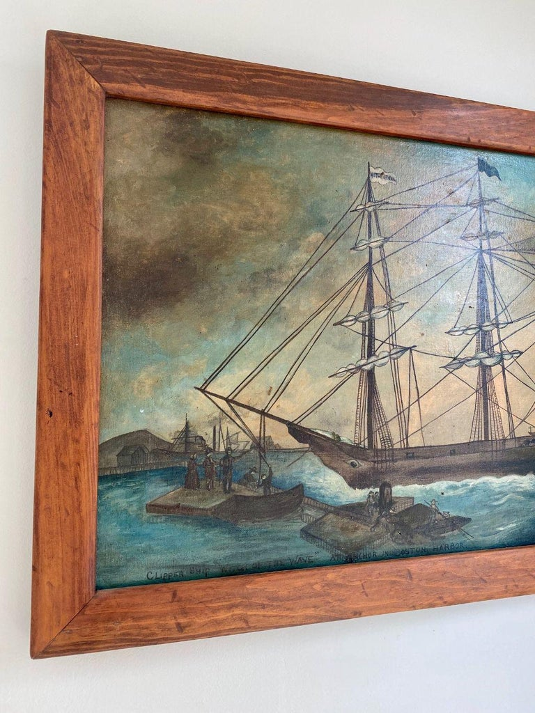 Antique Painting of