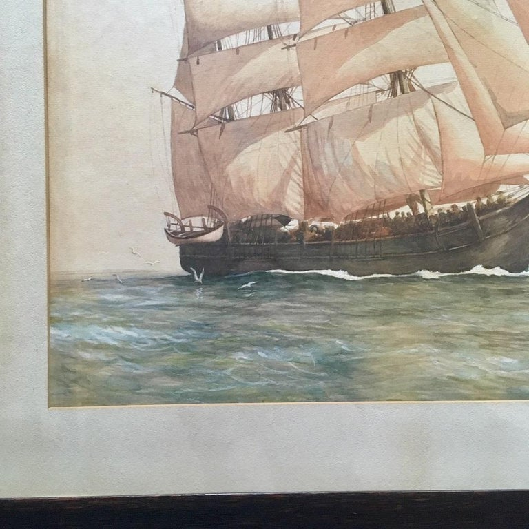 Original Painting of the famous Whaleship