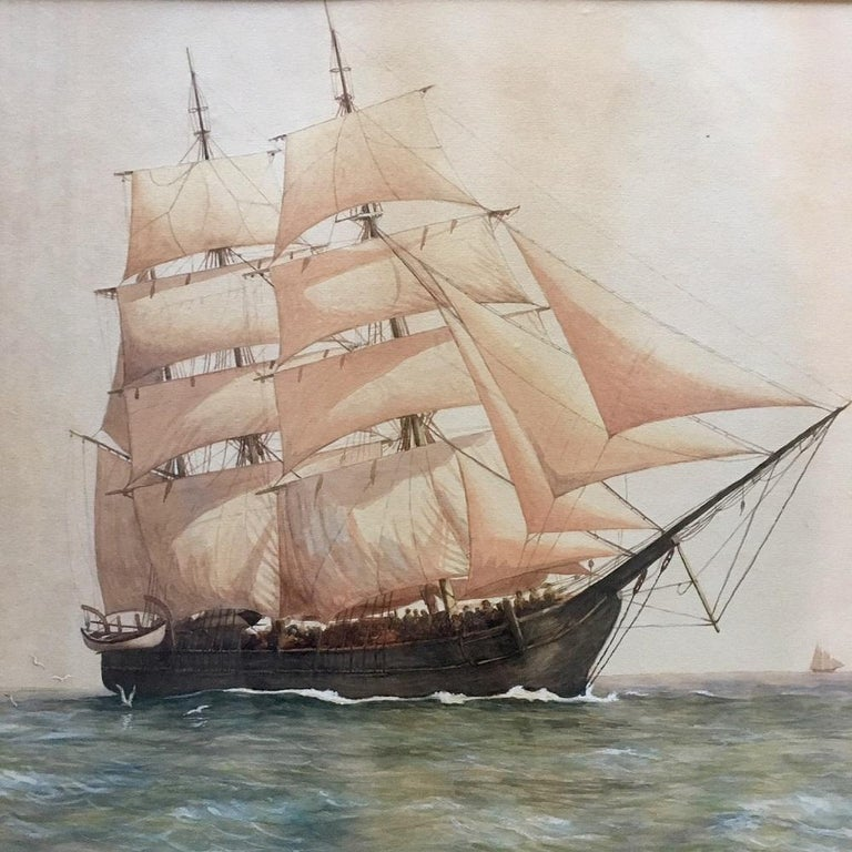 American Painting of the Whaleship