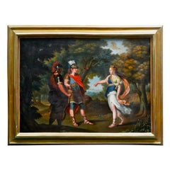 Painting of Venus Directing Aeneas Her Son to Carthage after Angelica Kauffmann