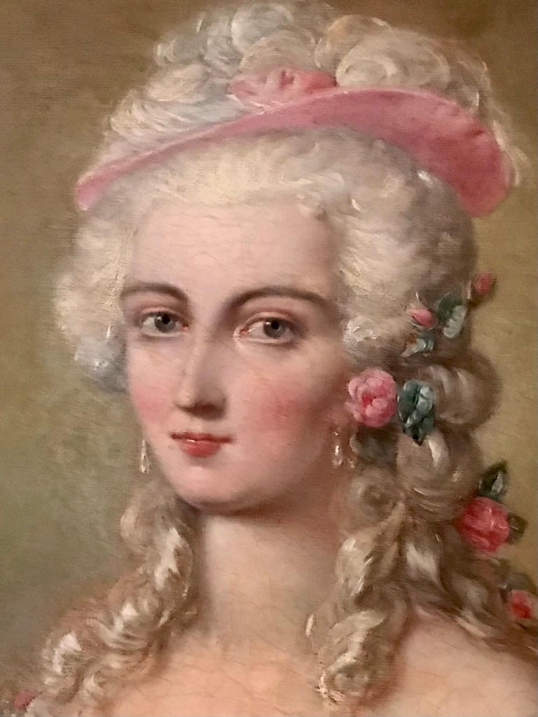 18th Century and Earlier Painting, Oil on Canvas of Aristocracy, by Johann Heinrich Tischbein For Sale