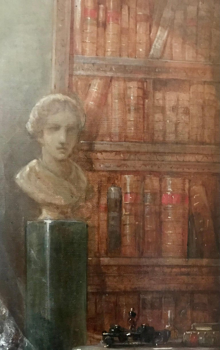 Painting, Oil on Canvas of Aristocracy, by Johann Heinrich Tischbein For Sale 1