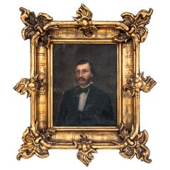 "Painting ""Portrait of an Ancestor"", 19th Century"