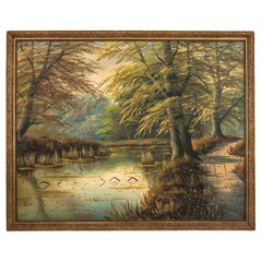 "Painting ""Road by the river"""