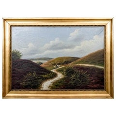 """Painting """"Road through the hills"""""""