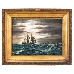 """Painting """"Rough sea"""""""