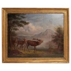 Painting Signed: Johann Frankenberger, Germany, 1840