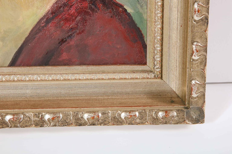 Hand-Painted Painting, Signed,