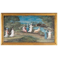 Painting Sketch, 18th Century
