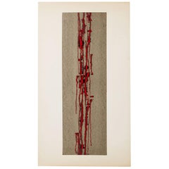 "Painting ""Standing"" by Inger Ekdahl, Sweden, 1961"
