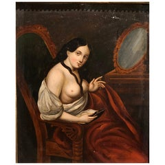 Painting, The Courtesan