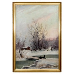 "Painting ""Winter Landscape"""
