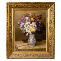 Painting with Flowers Iris