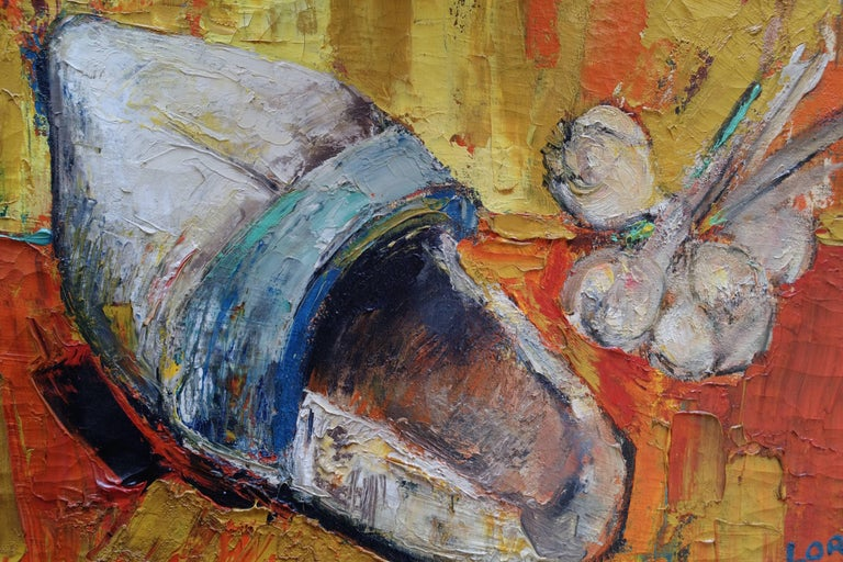 Mid-20th Century Painting by Bernard Lorjou, Le Sabot 'Clog', 1955-1957, Oil on Canvas For Sale