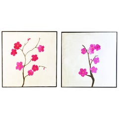 "Paintings ""Blossoms I & II"""
