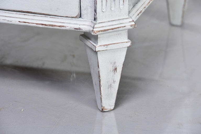 Pair of 19th Century English Pine Chests with New Paint For Sale 8