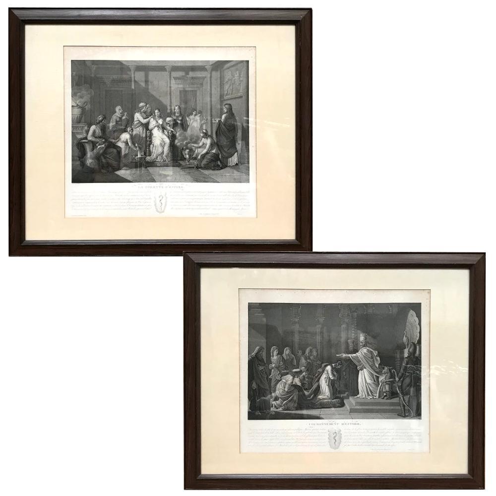 Pair of 19th Century Framed Engravings