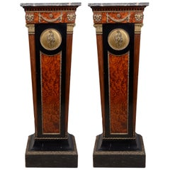 Pair of 19th Century French Classical Pedestals