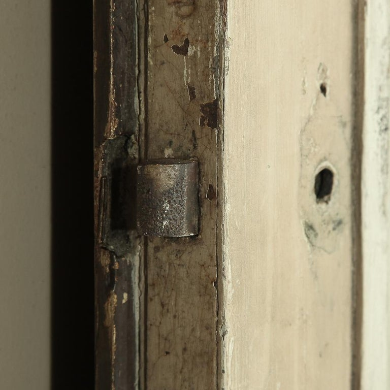 Pair of 19th Century French Hand Painted Paneled Interior Doors For Sale 12