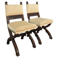 Pair of 19th Century Gothic Chairs