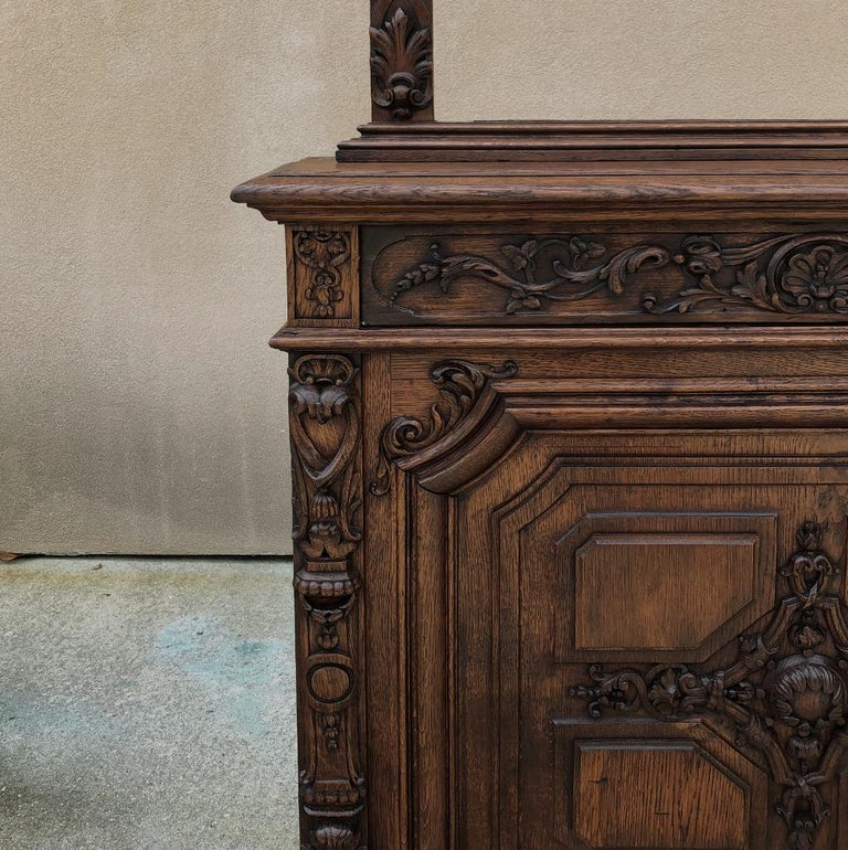 Pair of 19th Century Library, Bookcase Built-In Cabinets In Good Condition For Sale In Dallas, TX