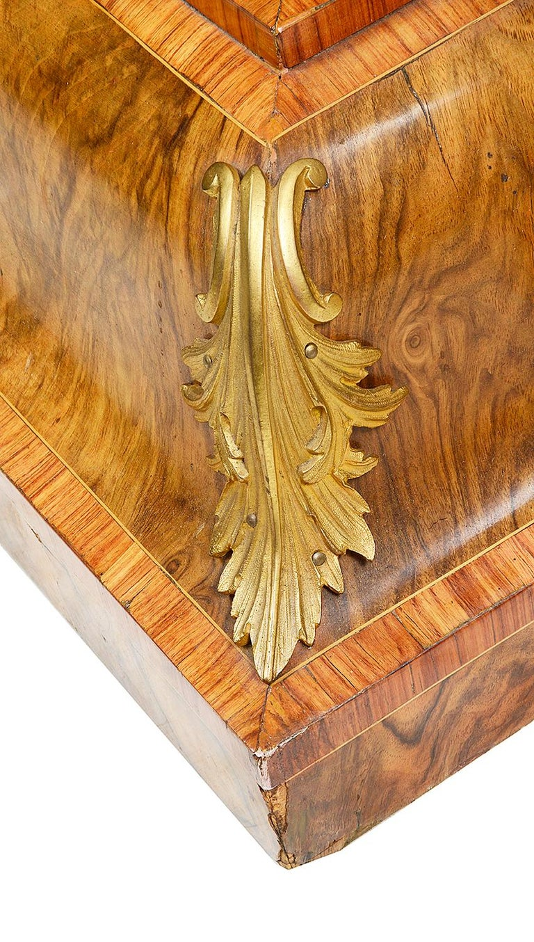 Pair of 19th Century Marquetry Pedestals For Sale 2