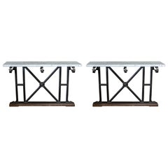 Pair of 19th Century Georgian Balcony Console Tables