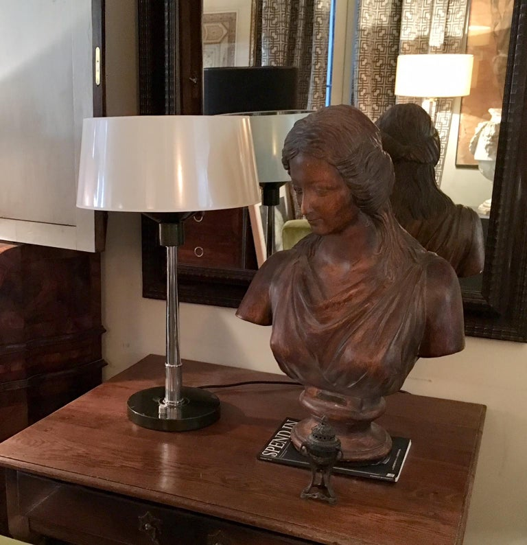 Pair 20th Century Deco Table Lamps For Sale 5