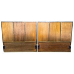 Pair of American Midcentury Headboard Paul McCobb for Calvin