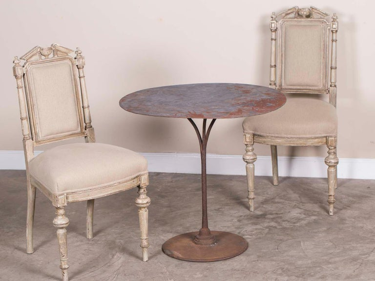 Pair of Antique French Napoleon III Period Painted Chairs, circa 1870 For Sale 3