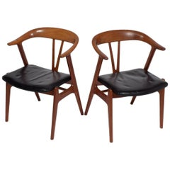 Pair of Armchairs by Torbjorn Afdal for Bruksbo