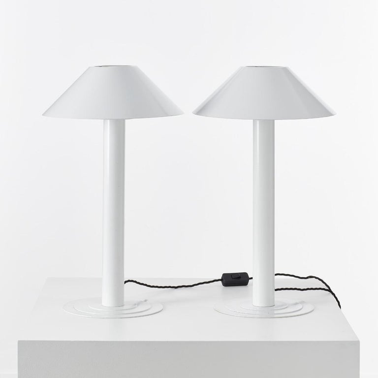 20th Century Pair of Bent Karlby Lamps For Sale