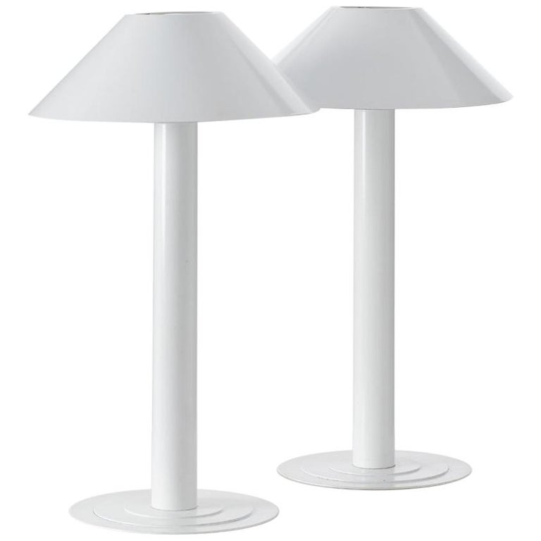 Pair of Bent Karlby Lamps For Sale