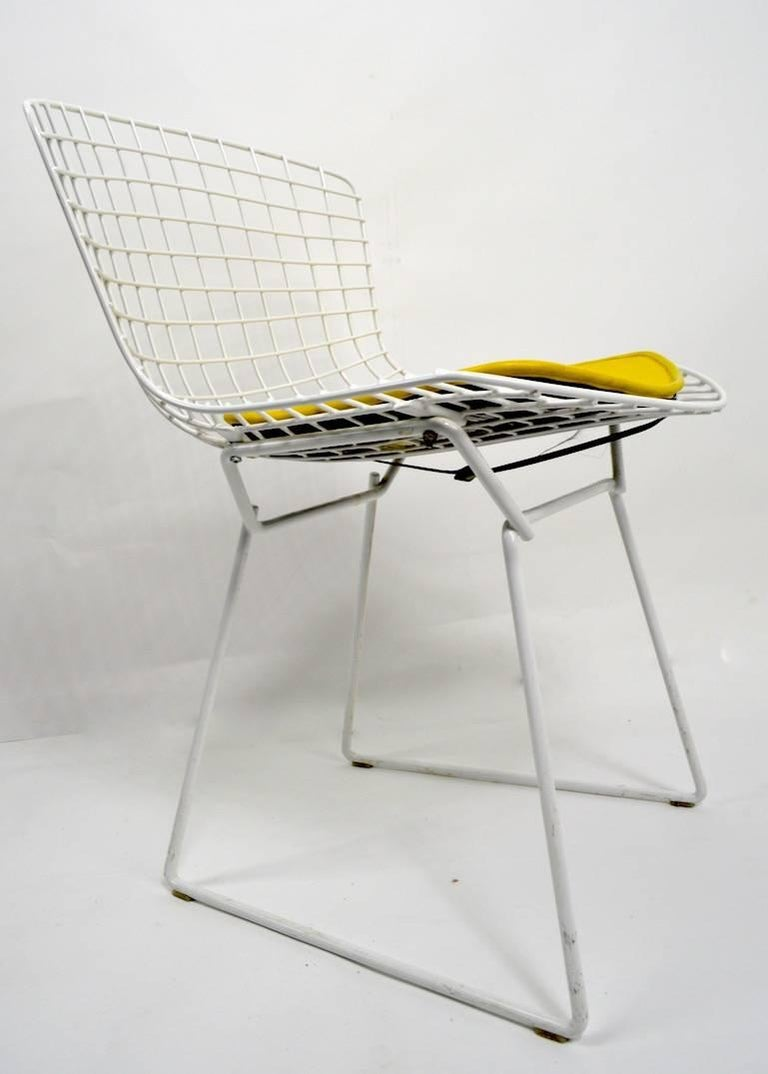 Pair of Bertoia for Knoll Dining Chairs at 1stdibs