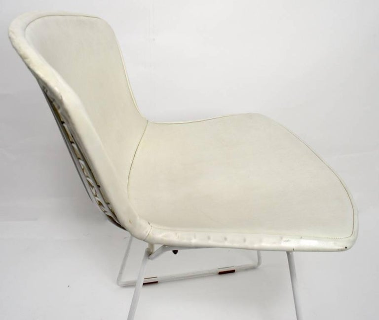 Mid-Century Modern Pair of Bertoia for Knoll Dining Chairs For Sale