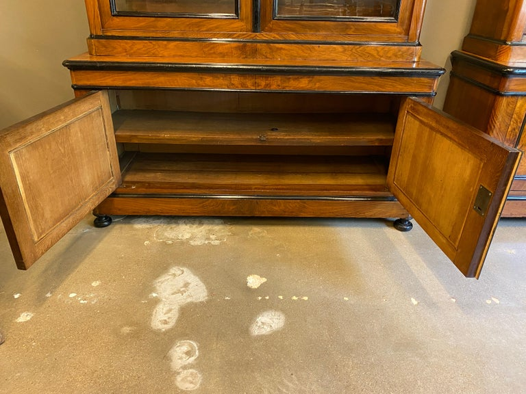 Pair of Biedermeier Cabinets, Austria, 19th Century In Good Condition For Sale In Austin, TX
