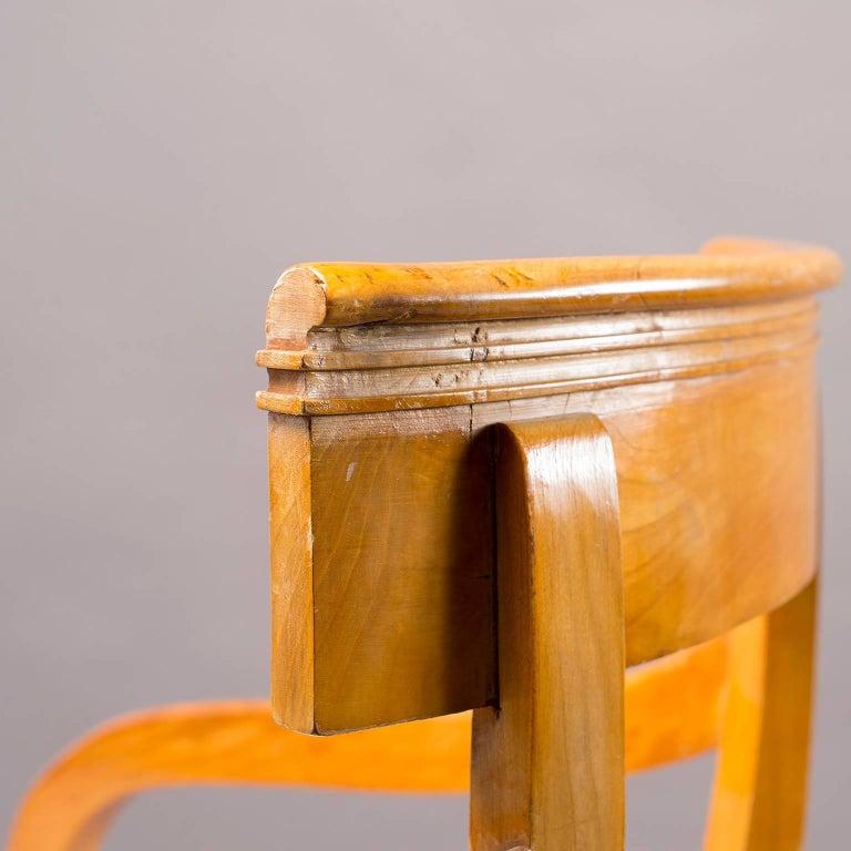 Pair of Biedermeier Style Armchairs For Sale 1