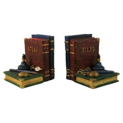 Pair Book and Pen Bookends