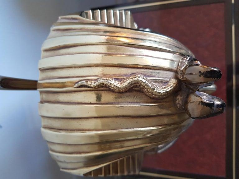 Vintage  Pharaoh Table Lamps, Hollywood Regency In Good Condition For Sale In Diemen, NL