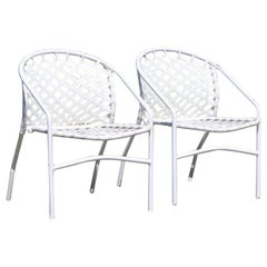 Pair of Brown Jordan Kantan Garden Patio Chairs by Tadao Inouye